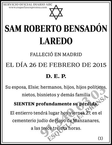 Roberto Bensadón Laredo